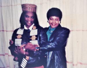 Gloria Joseph and Winie Mandela in 1998. (Submitted photo)