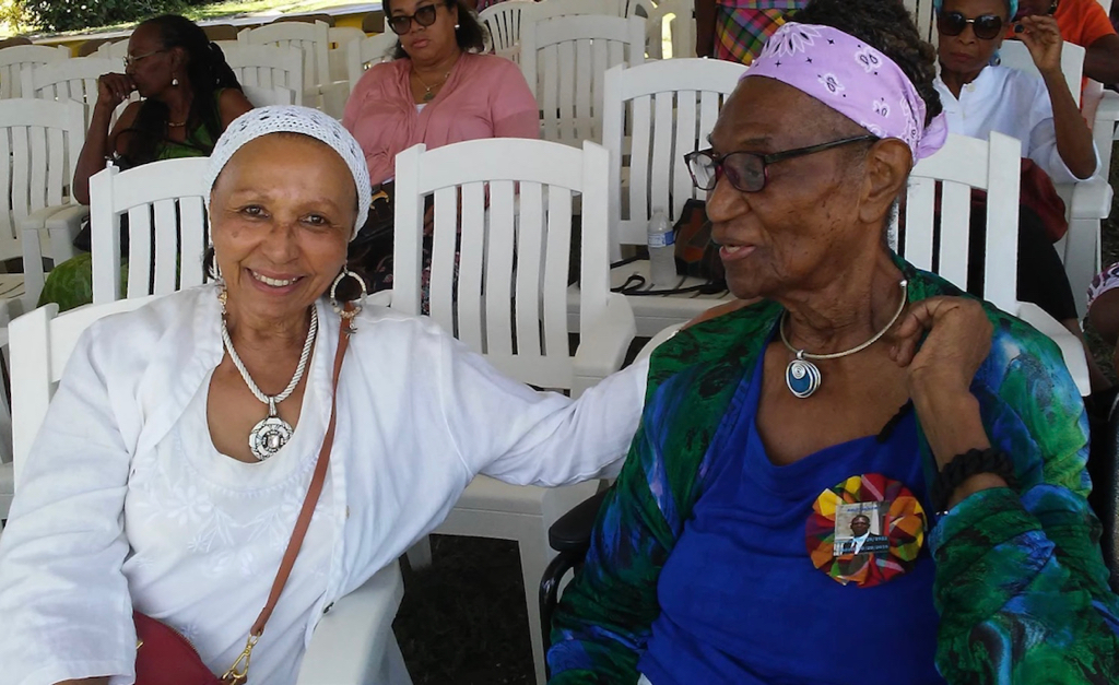 Helga Emde and Gloria Joseph, 2018 on St. Croix. (Submitted photo)