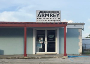 Patricia King, manager of Armrey Industries, said the Estate Richmond business had to rely on a generator because power was restored to the area months later than most Christiansted neighborhoods. (Source photo by Susan Ellis)