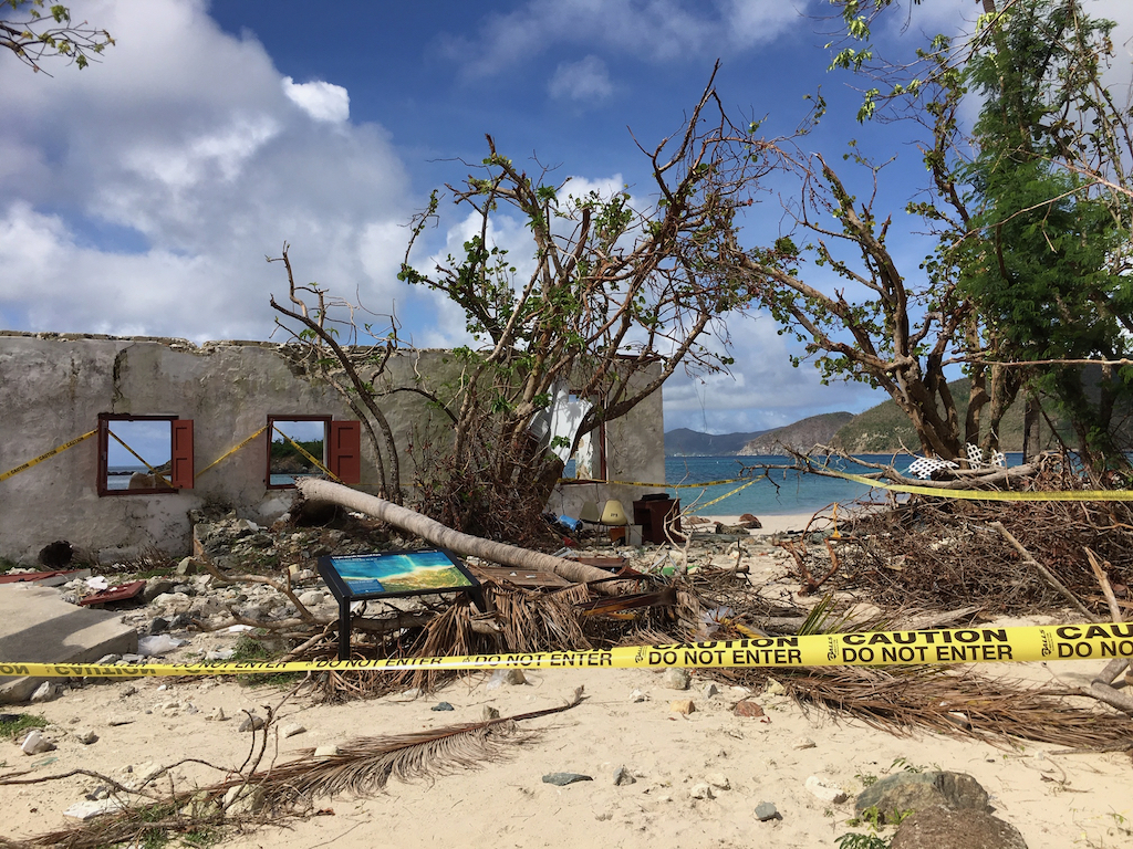 The Danish Warehouse at Cinnamon Bay was destroyed by Hurricane Irma. (Source file photo by Amy Roberts)