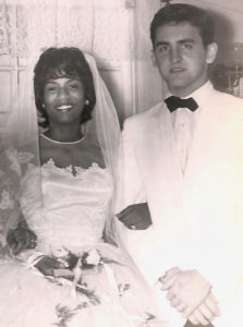 Shirley de Chabert Highfield and Arnold Highfield on their wedding day. (Submitted family photo)
