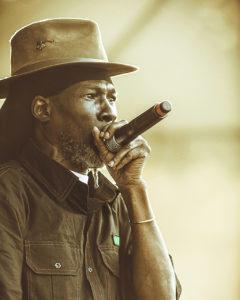 4. Vaugh Benjamin performs. (Photo by James Lakay)