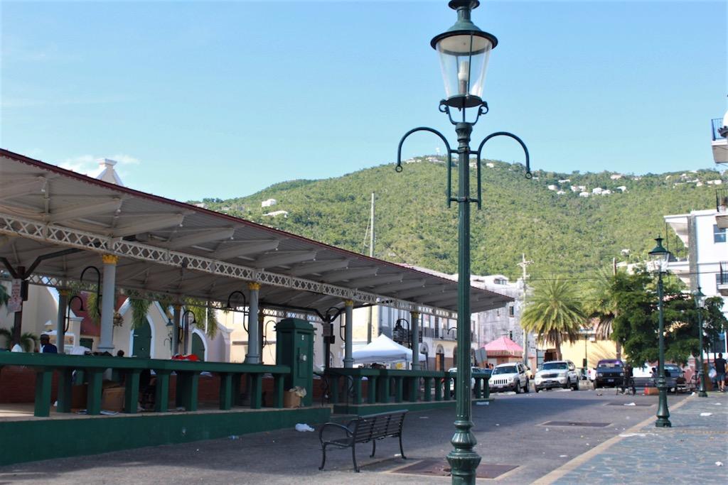 Market Square, Charlotte Amalie, St. Thomas. (Bethaney Lee photo)