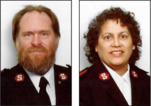 Maj. Steve Pearl and Maj. Irma Pearl (Submitted photos)