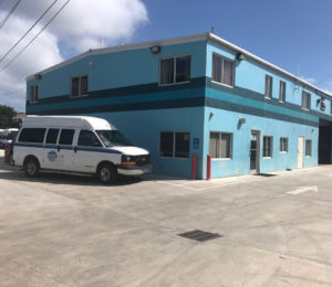 The VITRAN transportation in Estate Contant. A similar facility is in the works for St. Croix. (Source photo by Judi Shimel)