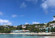 "Sunset Grille offers an idyllic Caribbean beach bar at Secret Harbor, St. Thomas, but it didn;t make the list of finalists for ""Best Beach Bar."" (Source photo by David MacVean)"