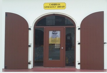 The Caribbean Genealogy Library is in Al Cohen's Plaza. (Source photo by Kyle Murphy)