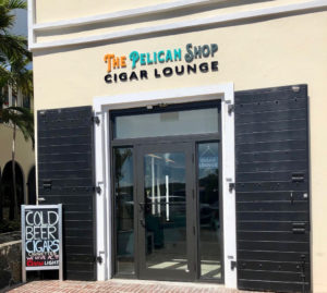 The Pelican Shop invites patrons to enjoy smoking cigars in a relaxed social setting with full bar and lounge area. (Source photos by Teddi Davis)