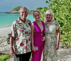 Anne Marie Porter, who hosts the Valentine's Day vow renewal ceremony, has married thousands of couples. (Source photo by Gail Karlsson)