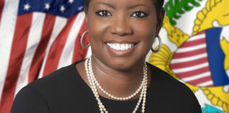 Sen Alicia Barnes (V.I. Legislature photo)