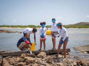 Virgin Islanders Use Youth Explorers Program as Marine Stepping Stone (Photo courtesy of Youth Ocean Explorers Program)