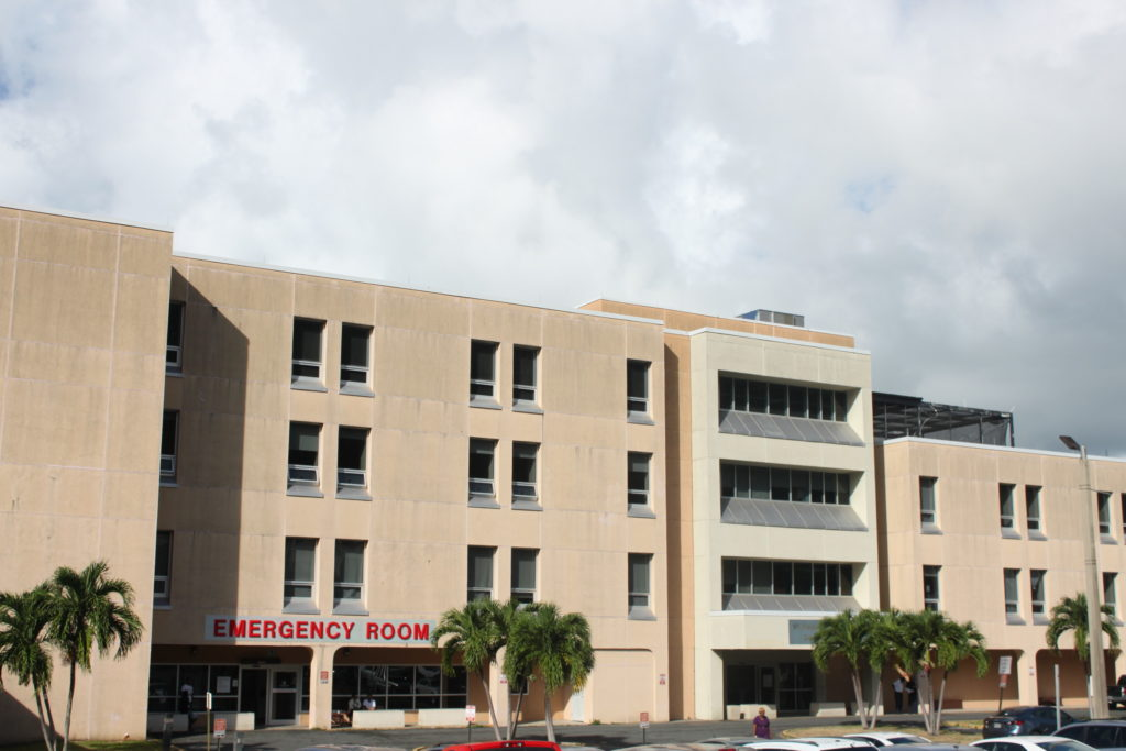 The Roy Lester Schneider Regional hospital. (Source photo by Bethaney Lee)