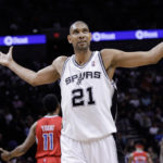 Tim Duncan capped his 19-year career with the San Antonio Spurs on Satirday with election to the Basketball Hall of Fame. (Photo from youtube)