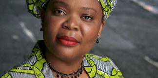"""Leymah Gbowee, subject of """"Pray the Devil Back to Hell,"""" which will be shown online by Caribbean Volunteer Services. (Submitted photo)"""