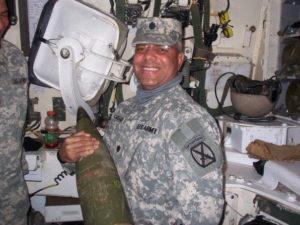 Lt. Col. David C. Canegata serves in the V.I. National Guard (Photo provided by Nicole Canegata)