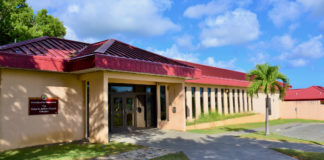 The Delta M. Jackson Dorsch Complex dormitories on the University of the Virgin Island's St. Croix campus are getting federally-funded retrofits to handle hurricane-force winds and rain. (UVI photo)