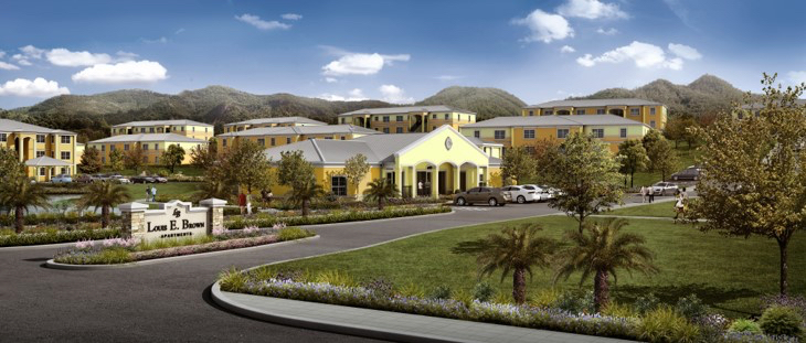 The new Louis E. Brown Villas as they appear today. (Image provided by the V.I. Housing Authority)