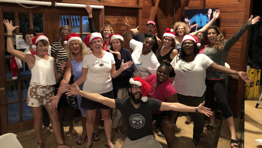 The St. John Recovery Choir performs for Christmas in 2018. (Submitted photo)